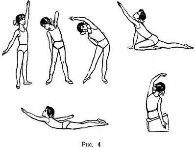 exercises with right-hand scoliosis