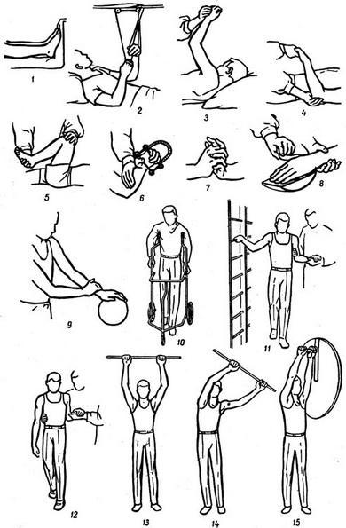 Hemiplegia preventing contraction of muscles